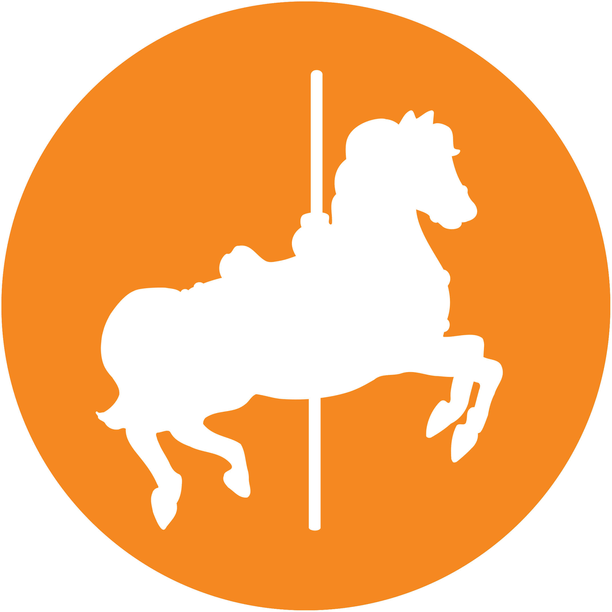 Graphic Icon of Carousel horse
