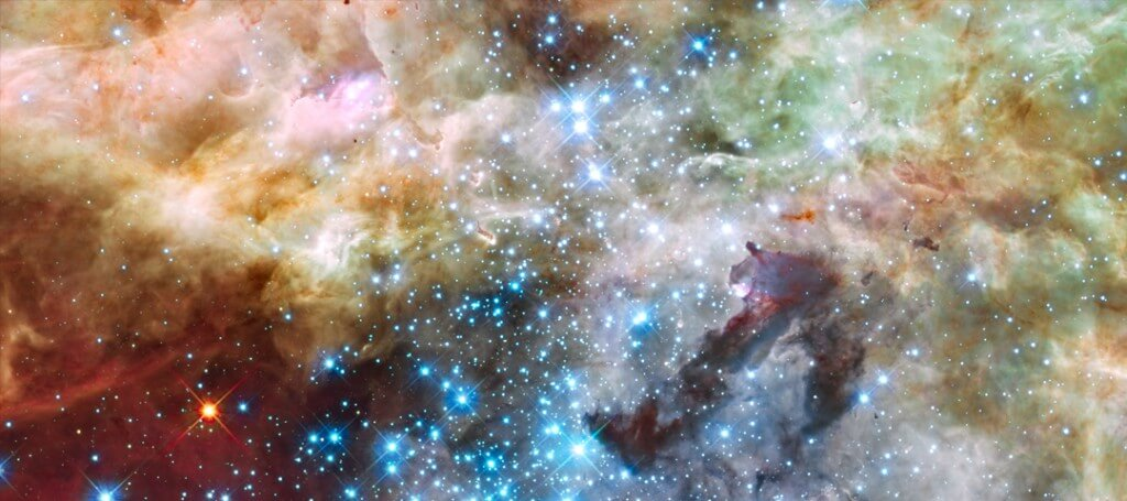 A hubble view of space