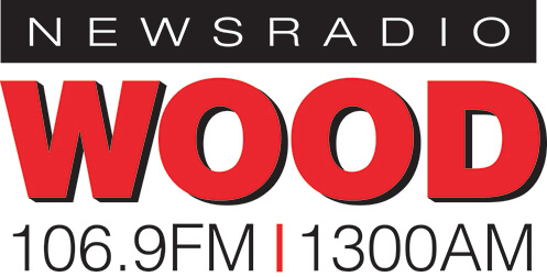 News WOOD Radio Logo