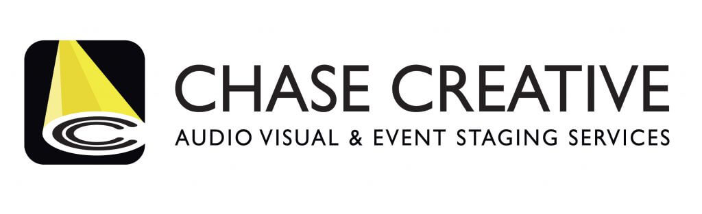 Chase Creative audio visual and event staging services logo