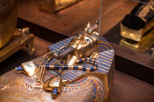 King Tut Sarcophagus from King Tut exhibit 2015