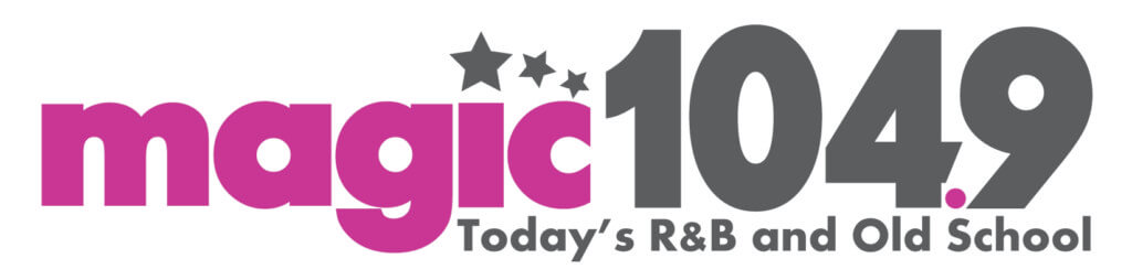 Magic 104.9 Today's R and B and Old School logo