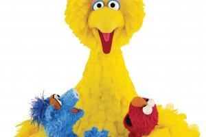 Big Bird and friends from Sesame Street, One World, One Sky Planetarium Show